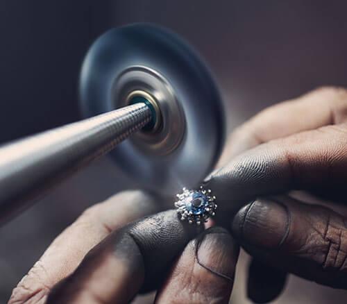 Polishing Fine Jewelry