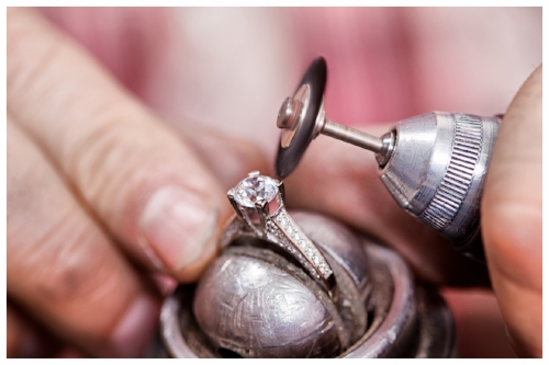 Jeweler Manufacturing a Ring
