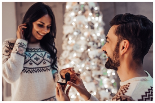 Marriage Proposal During a Romantic Holiday