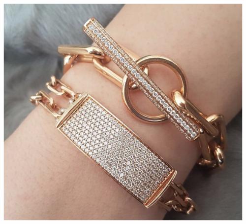 Gold and Diamond Designer Bracelets