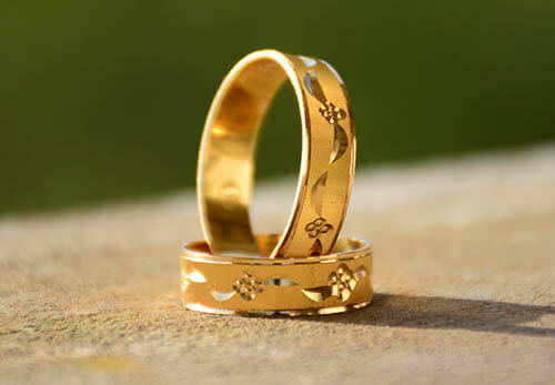 Electroplated Gold Vermeil Ring