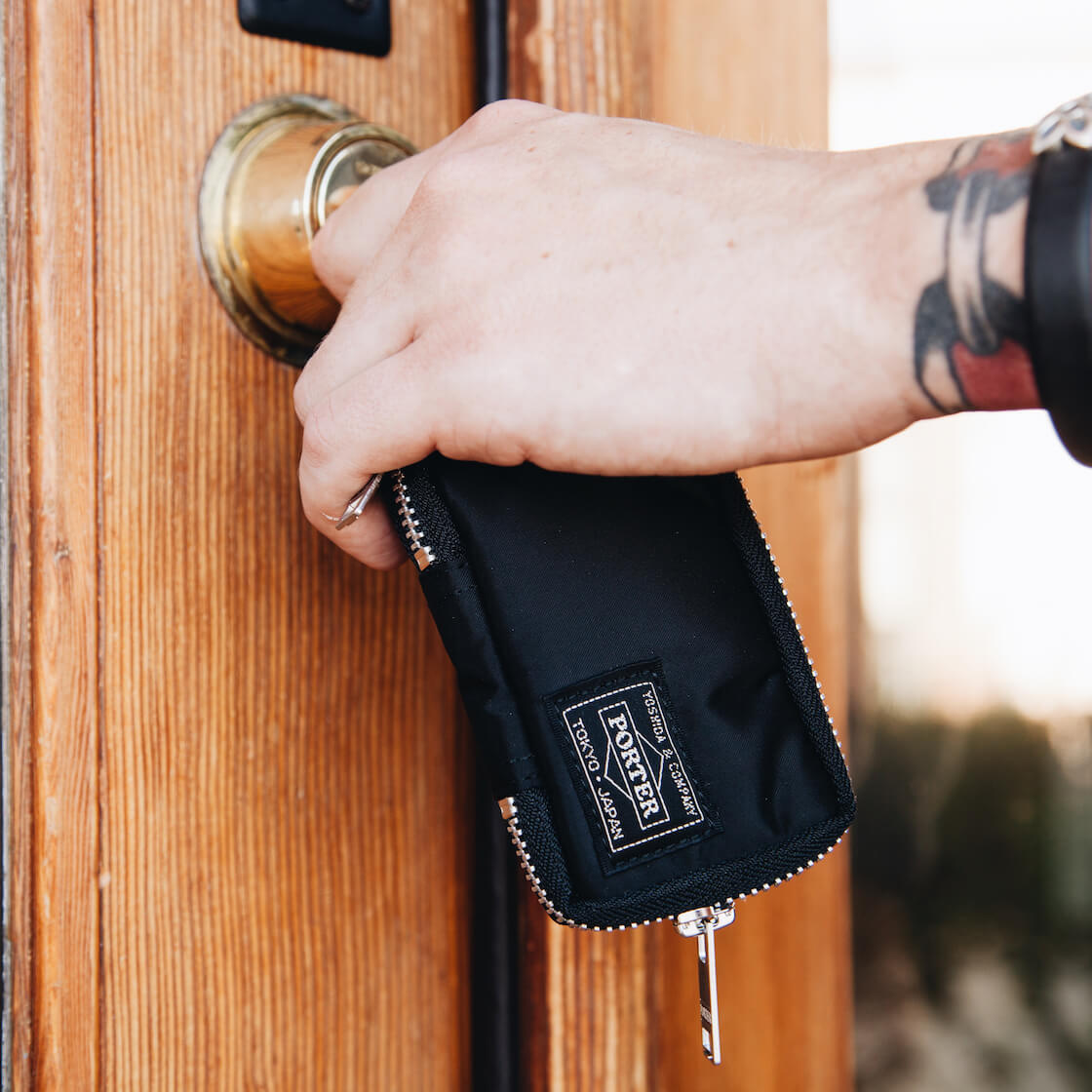 porter yoshida and co nylon key case feature image