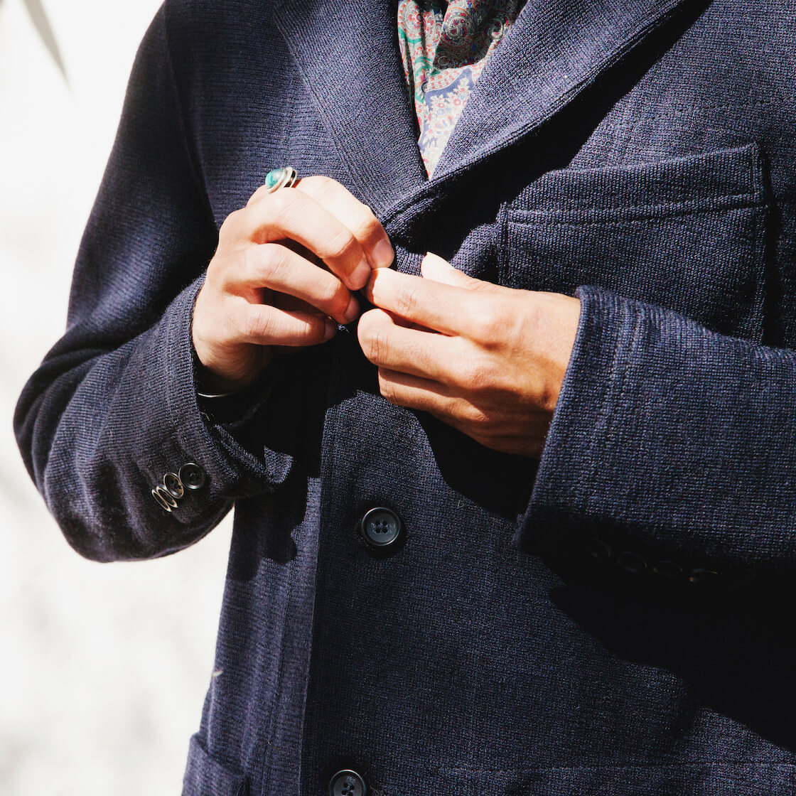 Fall Suiting - Engineered Garments on body