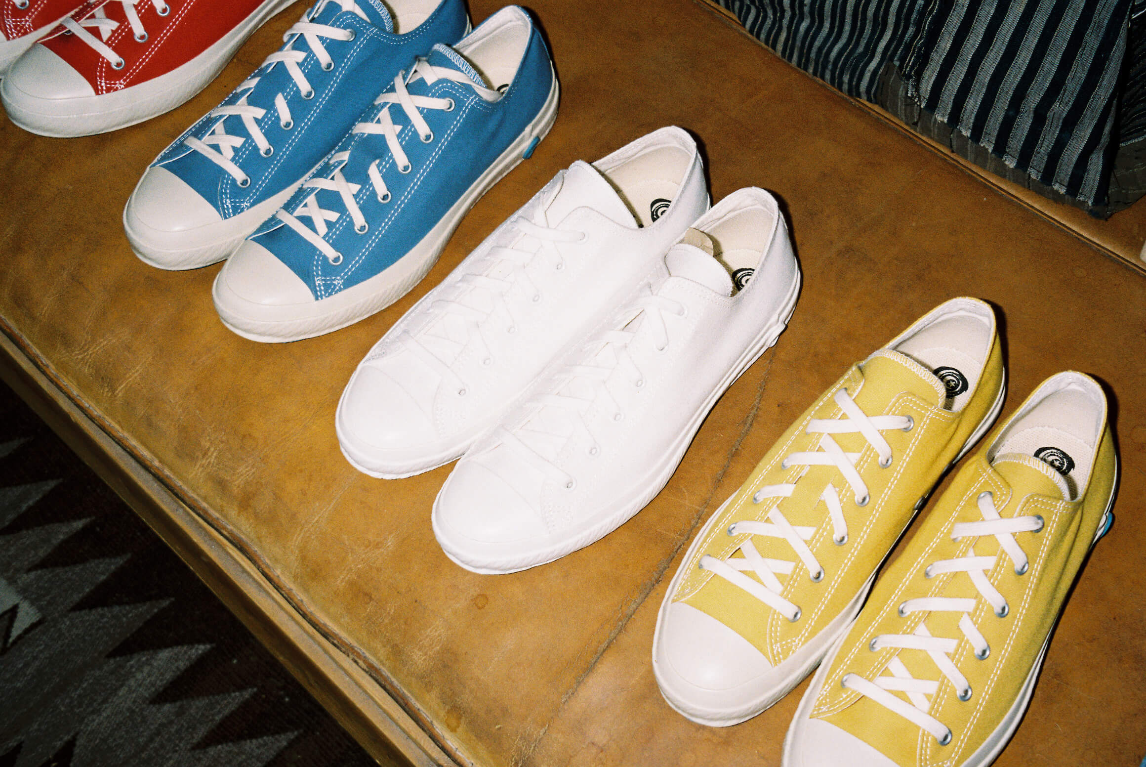 shoes like pottery CLOTH NATURAL DYE LO-TOP SNEAKERs