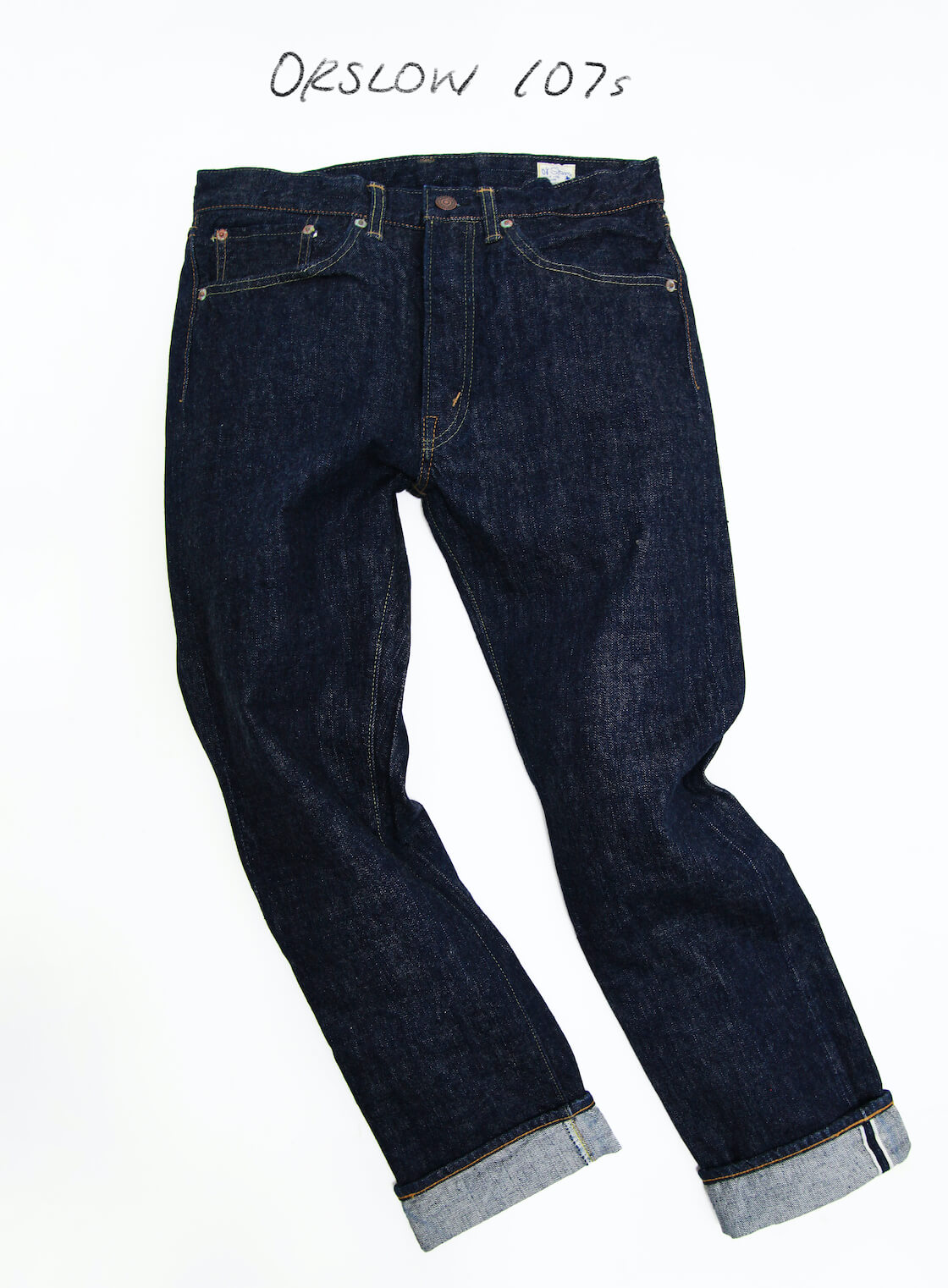 favorite jeans are the orslow 107 ivy denim