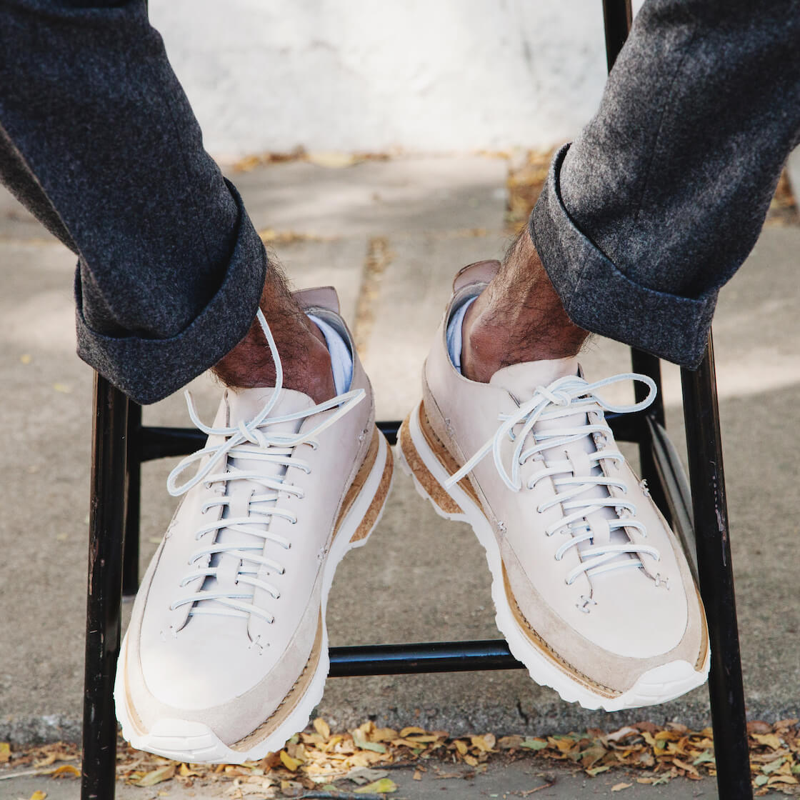 Feit lugged runner shoes
