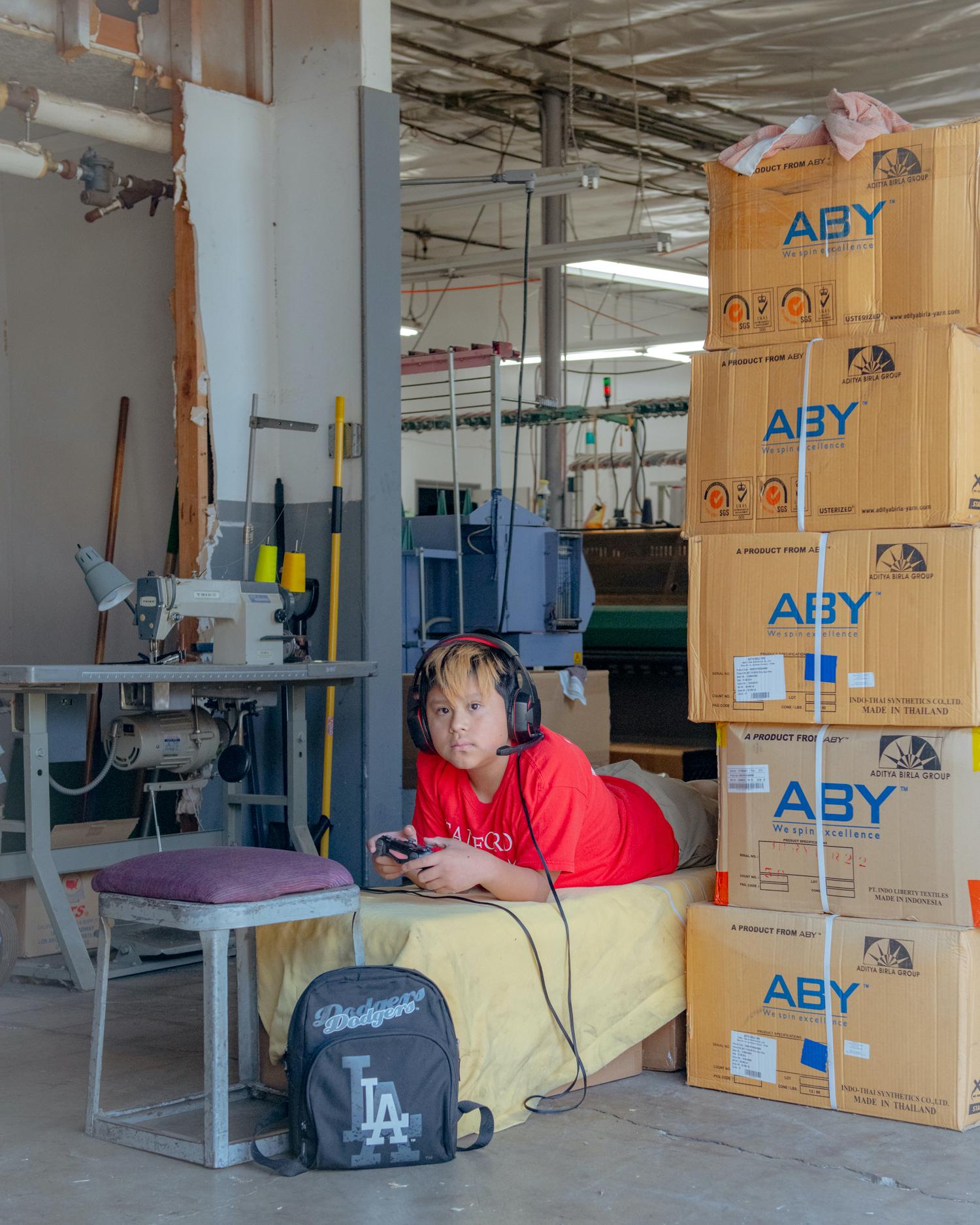 lady white co textile factory photo tour