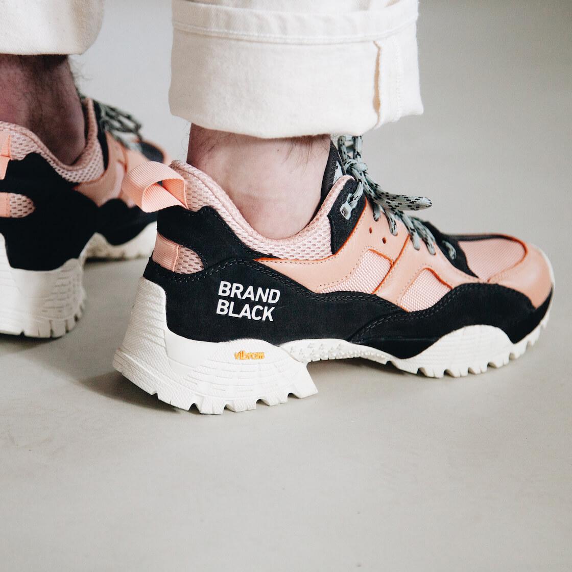 brandblack cresta shoes on body