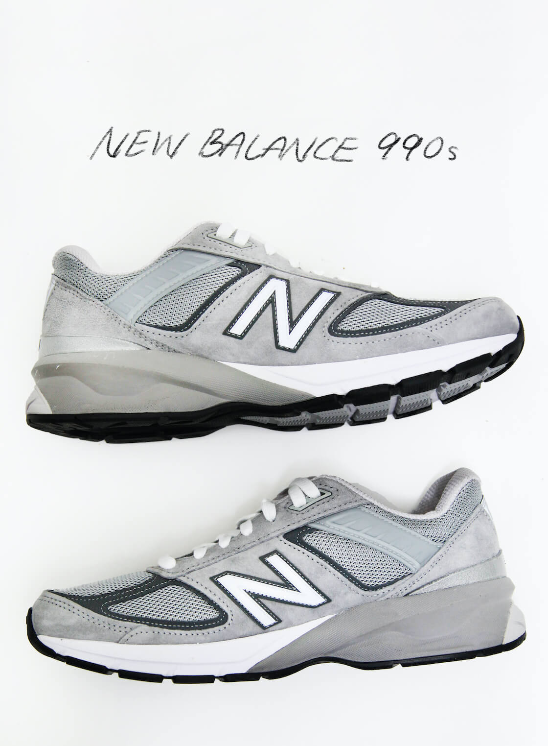 favorite sneakers are the new balance 990 series of shoes