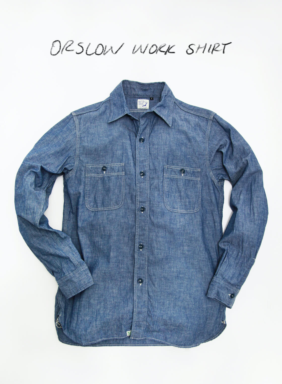 favorite chambray is the orslow work shirt