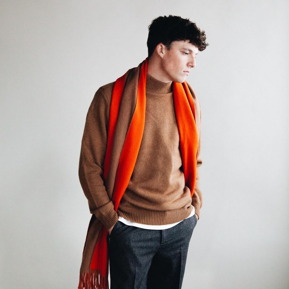 harmony paris wynn turtleneck and angel scarf on body 3