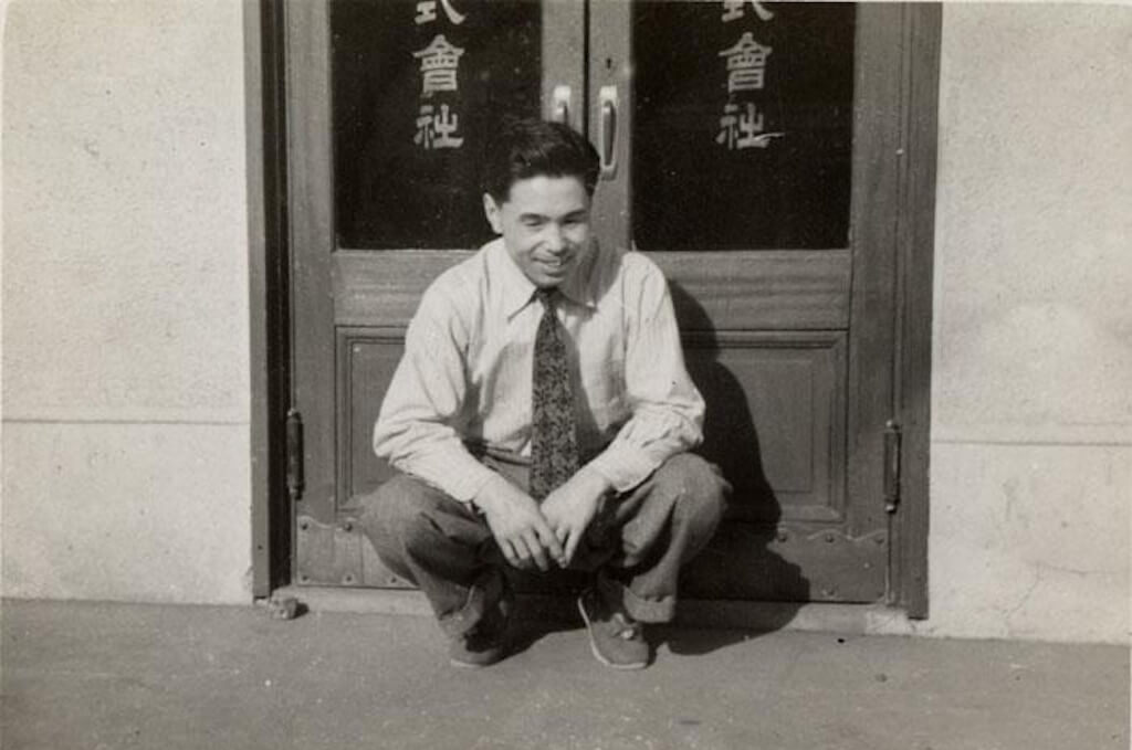 Picture of kihachiro onitsuka in 1953