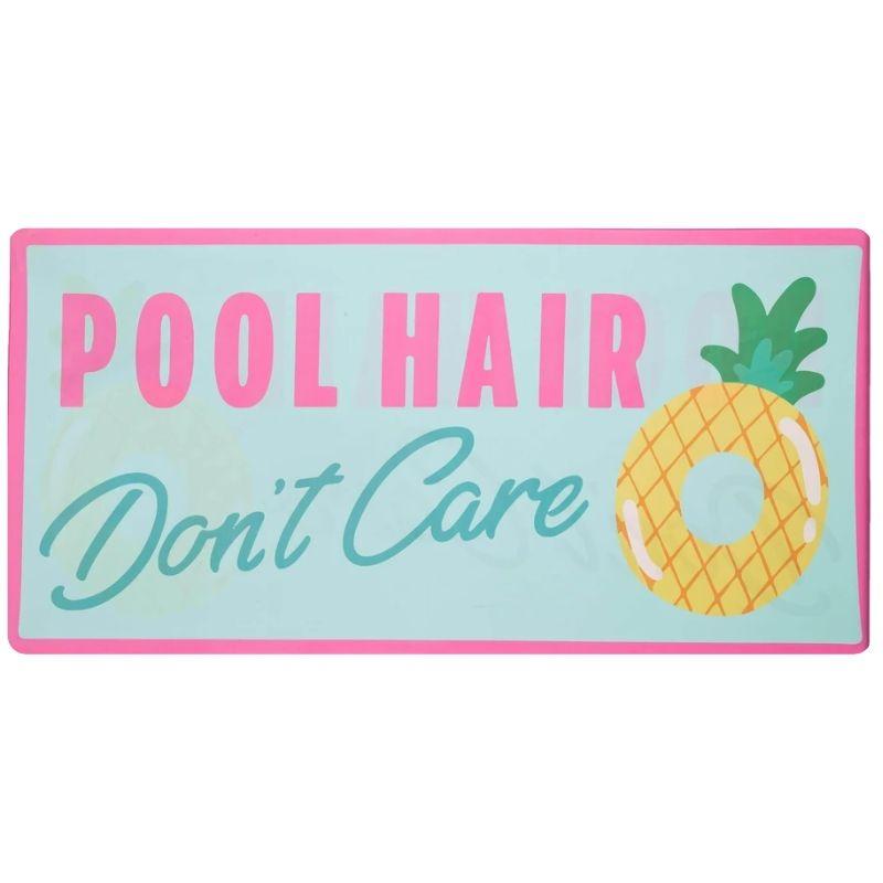 Katydid Beach Towel - Pool Hair Don't Care