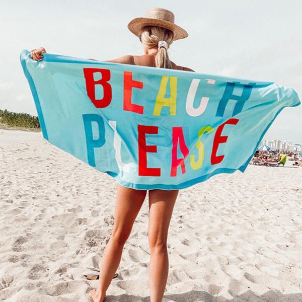Katydid Beach Towel - Beach Please
