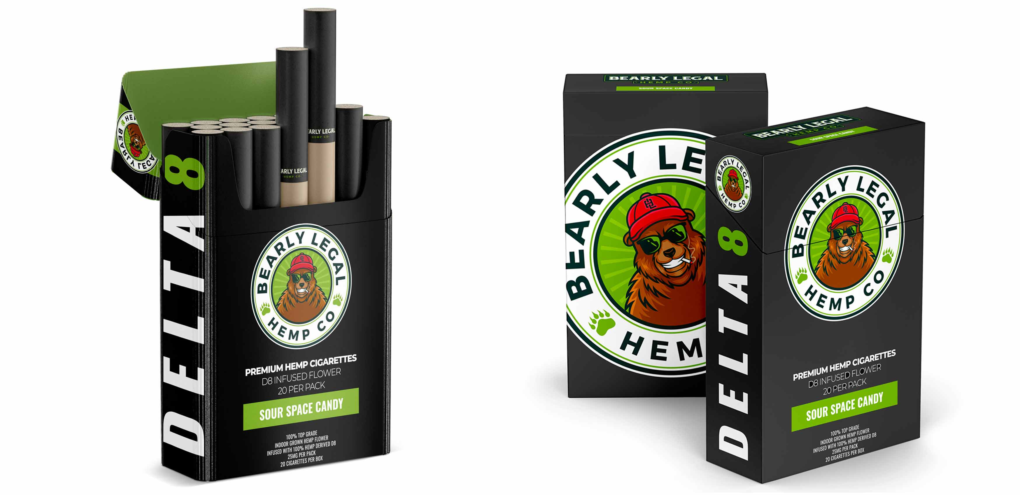 Delta 8 Hemp Cigarettes