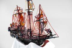 Pirate Ship Bubbler
