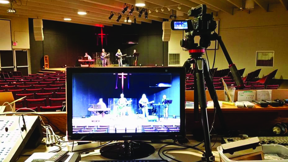 Church Live Stream Setup