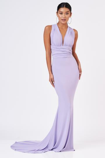 LILAC MULTIWAY MAXI DRESS