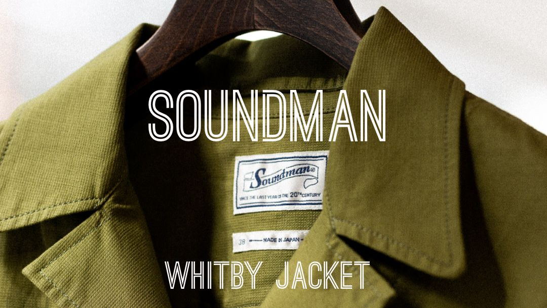 SOUNDMAN 643M-906N WHITBY JACKET OLIVE - CLUTCH CAFE LONDON - SAFARI JACKET