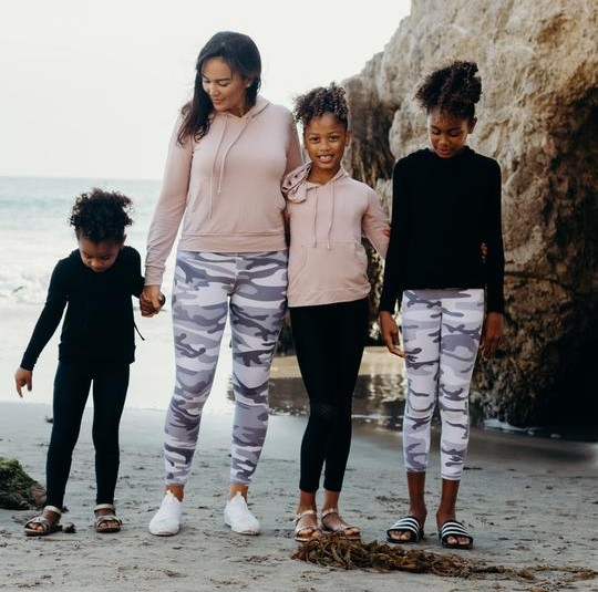 Jen Luana Mommy & Me Athleisure Outfits