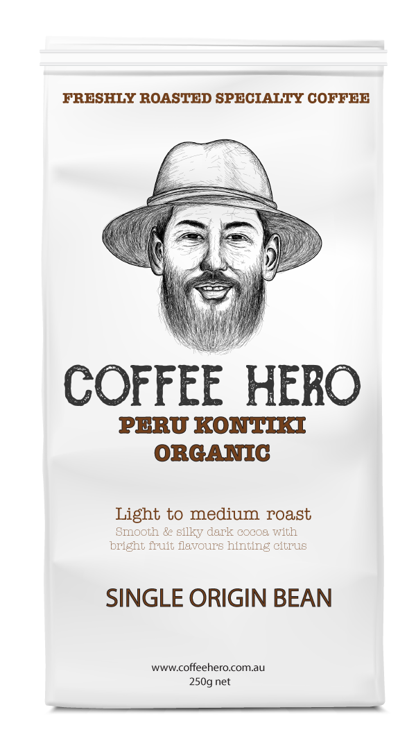 Peru Kontiki organic coffee beans