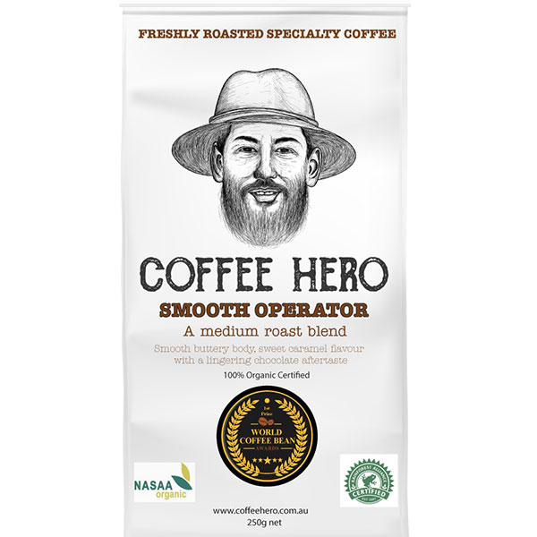 Smooth Operator Specialty Coffee Beans Organic Certified