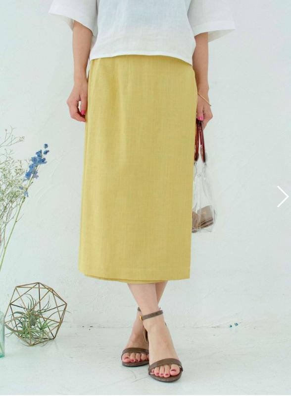 巻きタイトスカート