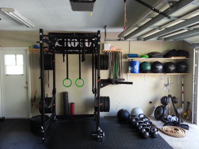 How to build a budget garage gym u2013 coolyeah garage organization