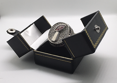 Customized Fantasy Football Championship Ring - Veteran - Customized with Shape, Color, and more!