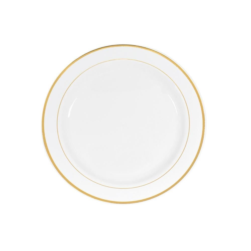 "Disposal 10.25"" Plastic Plates"