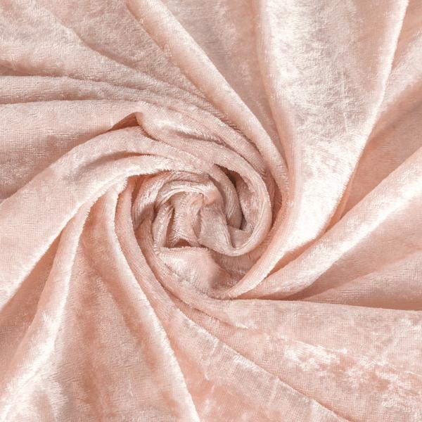 10 yards Velvet Fabric Roll - Blush/Rose Gold