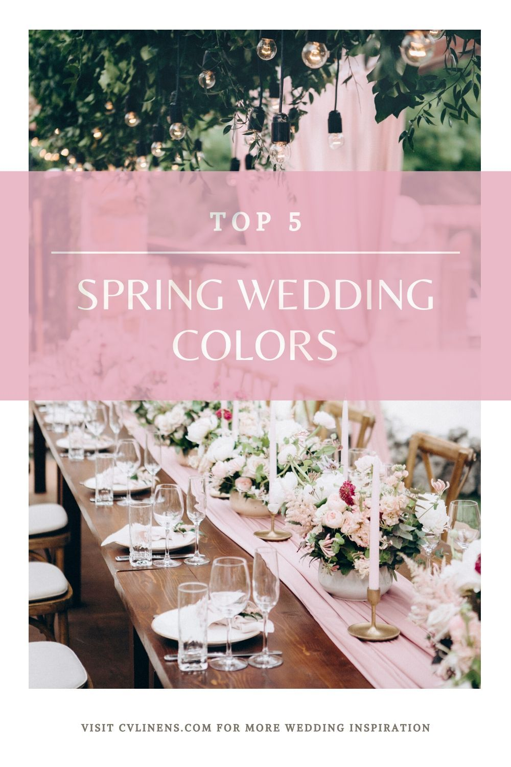 The Spring Wedding Season Top 5 2020 Color Palettes and Color Schemes