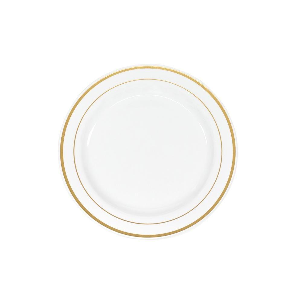 Classic Plastic Plates