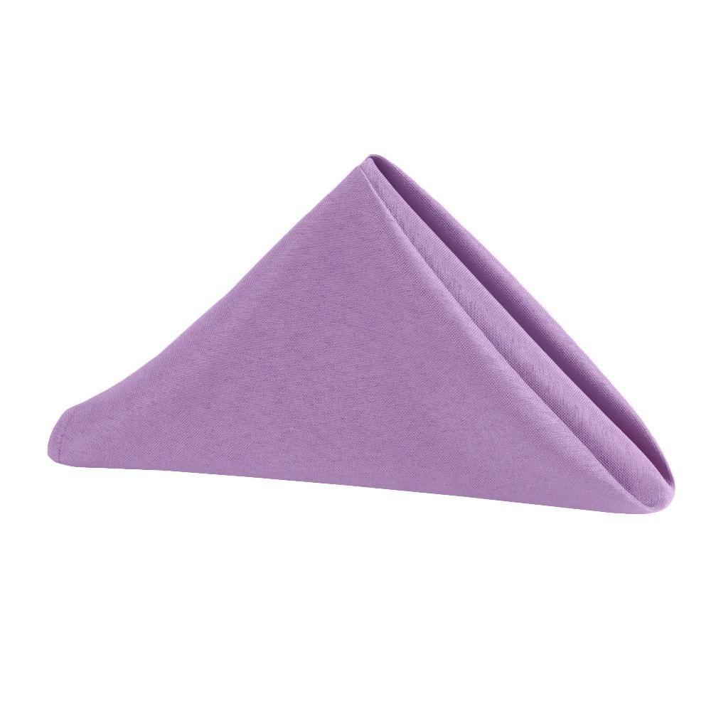 """Polyester Napkin 20""""x20"""" - Lavender"""
