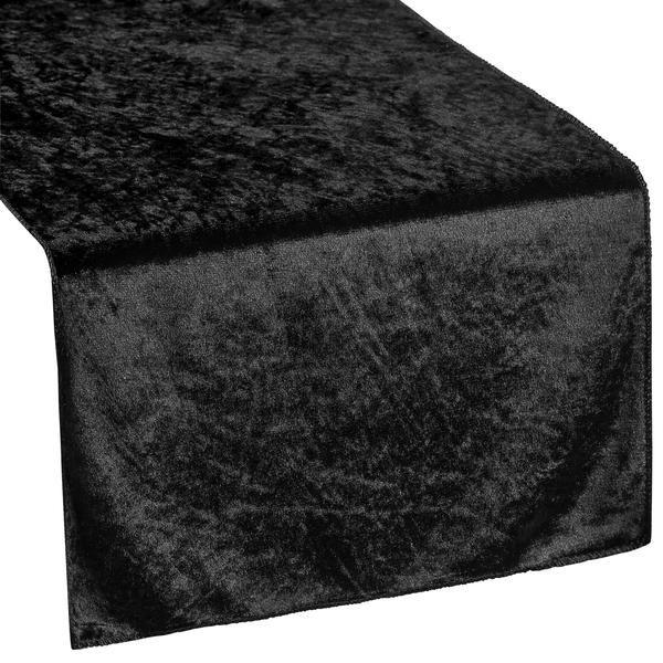 Velvet Table Runner - Black