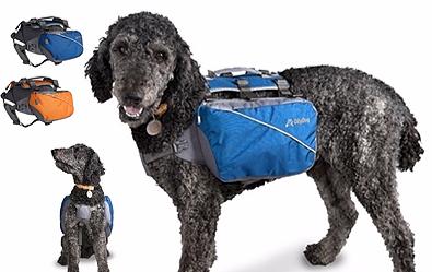 Trekker RF Dog Pack Backpack Harness in 2 color choices Cobalt Blue or Neon Orange