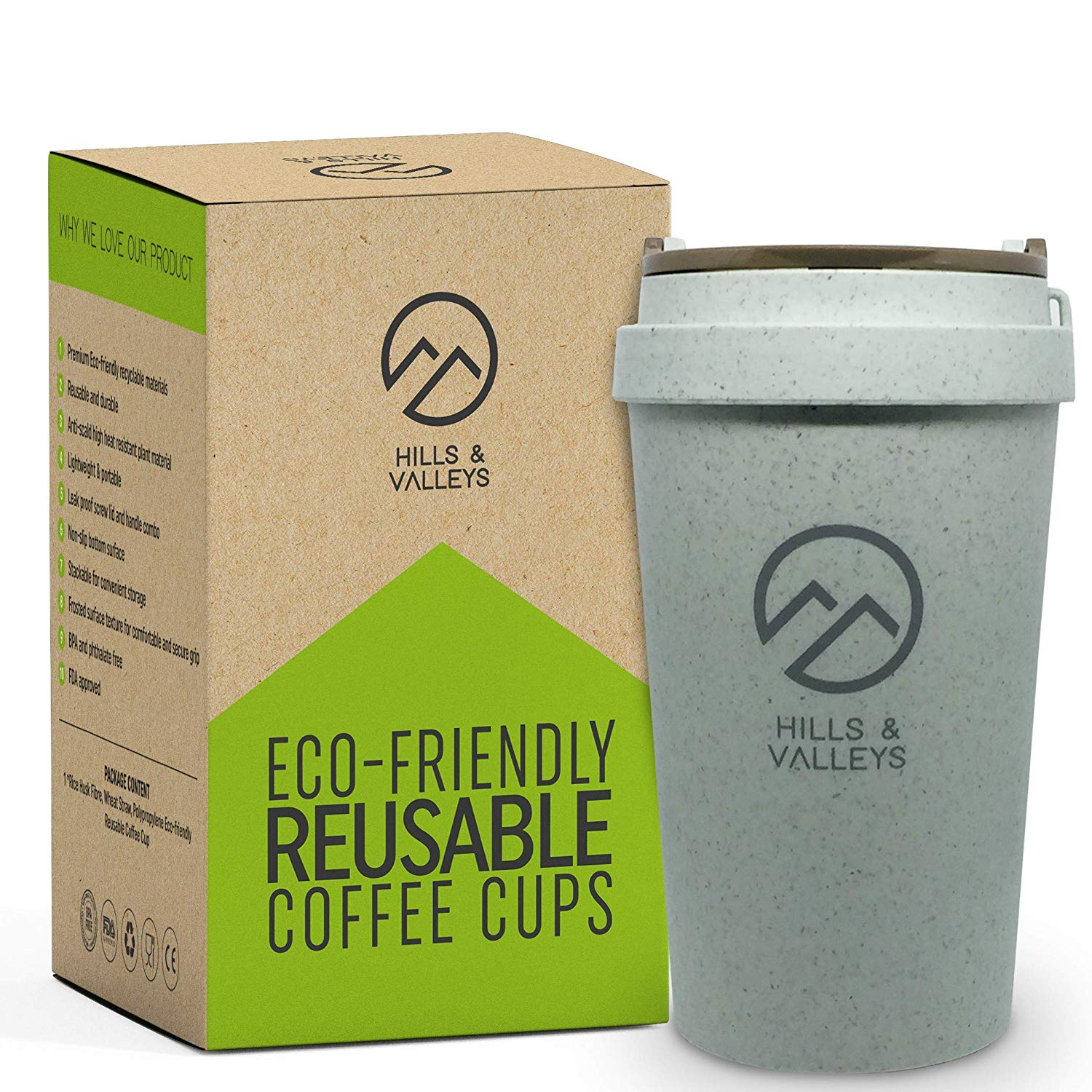 Eco-Friendly Reusable Coffee Cups