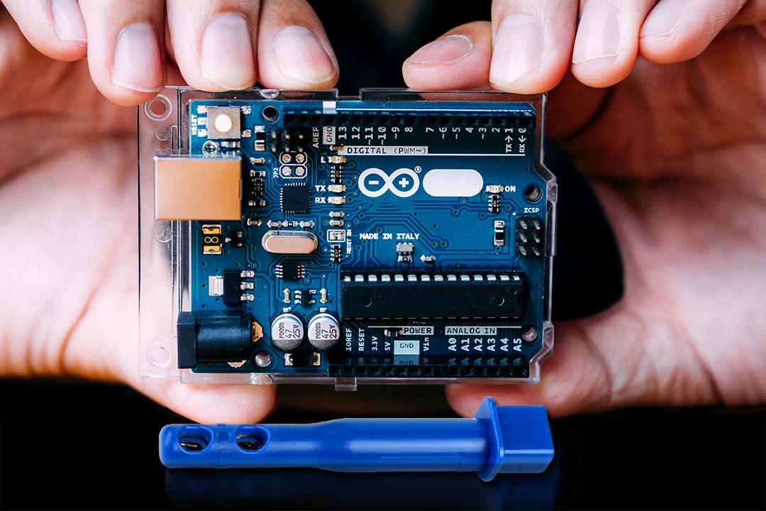 Arduino Embedded Airflow Sensor