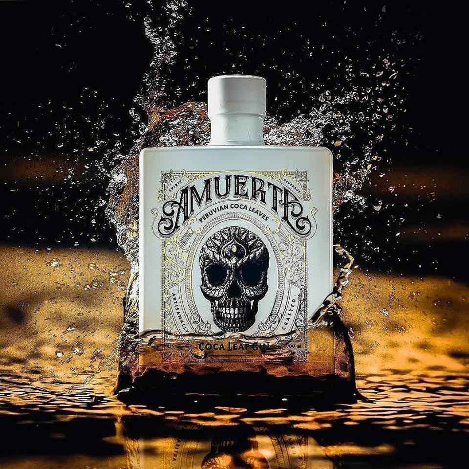 WHITE BOTTLE GIN AMUERTE