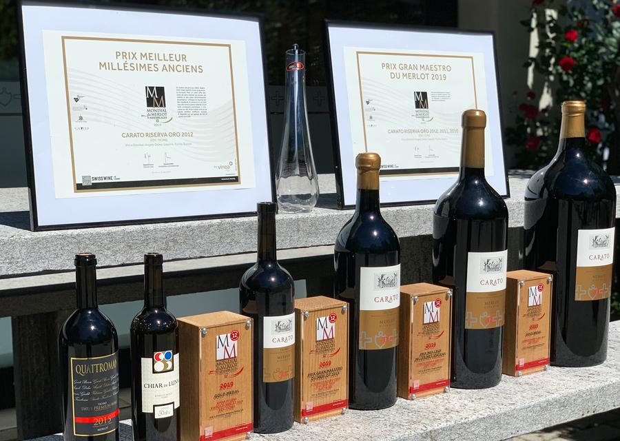 THE AWARDS OF MONDIAL DU MERLOT 2019