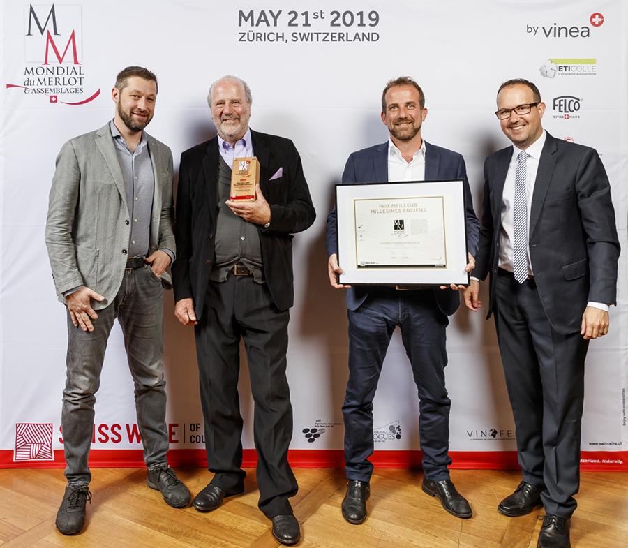 DELEA AWARDS MONDIAL DU MERLOT 2019