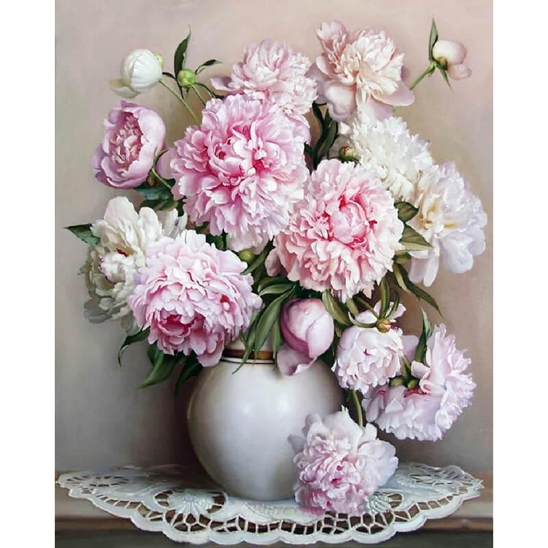 Malen nach Zahlen Blumen