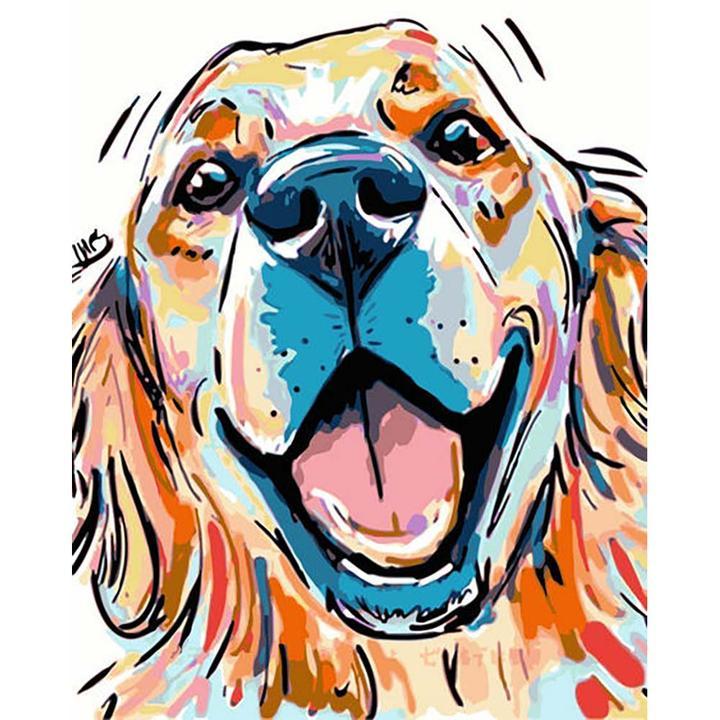 DIY Malen Hunde