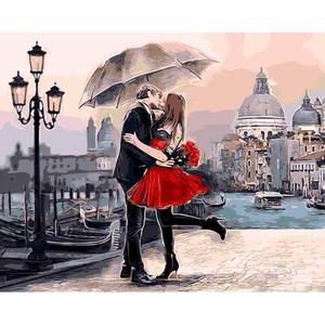 Liebe in Venedig Markusplatz