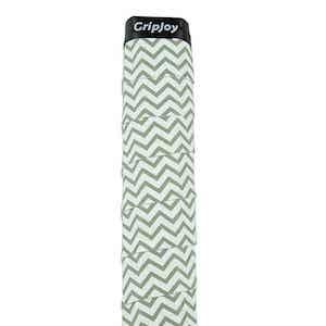 Chevron patterned tennis grip