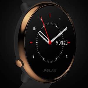 Polar Vantage watch closeup