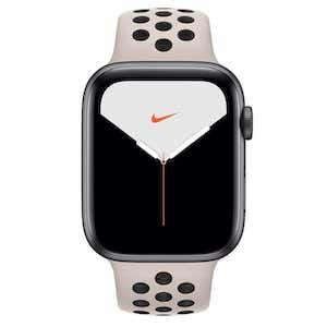 White Nike Apple watch