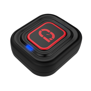 A dampener that is also a fitness tracker