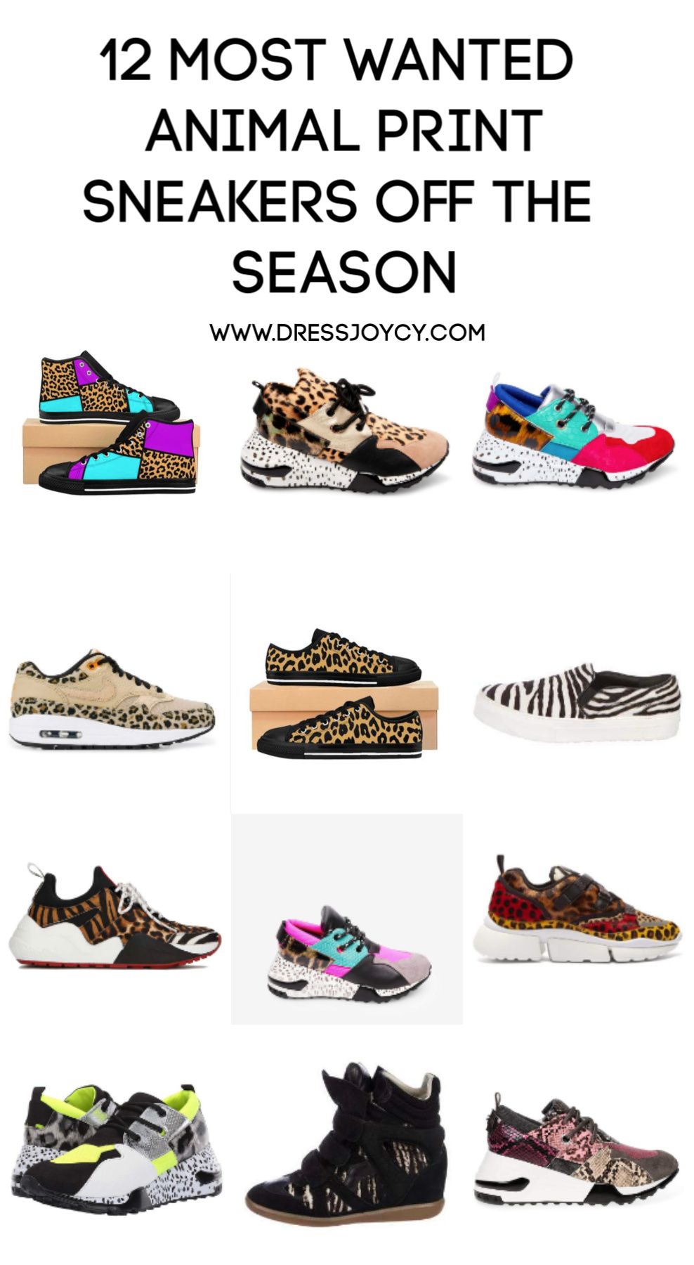 Most Wanted Animal Print Sneakers off
