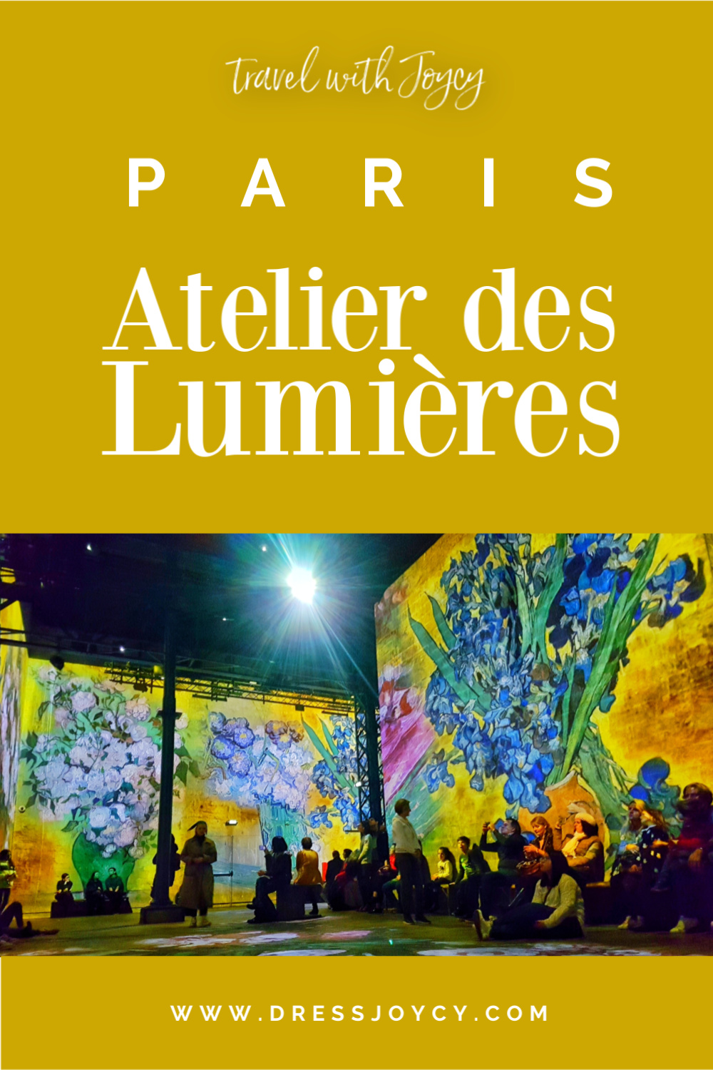 PARIS | Atelier des Lumières: Van Gogh + Japanese Art | Immersive Art Exhibit